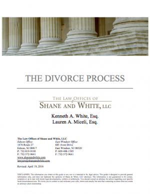The Divorce Process Guide - New Jersey